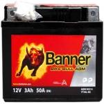BANNER BIKE BULL YTX4L-BS