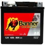 BANNER BIKE BULL YTX5L-BS