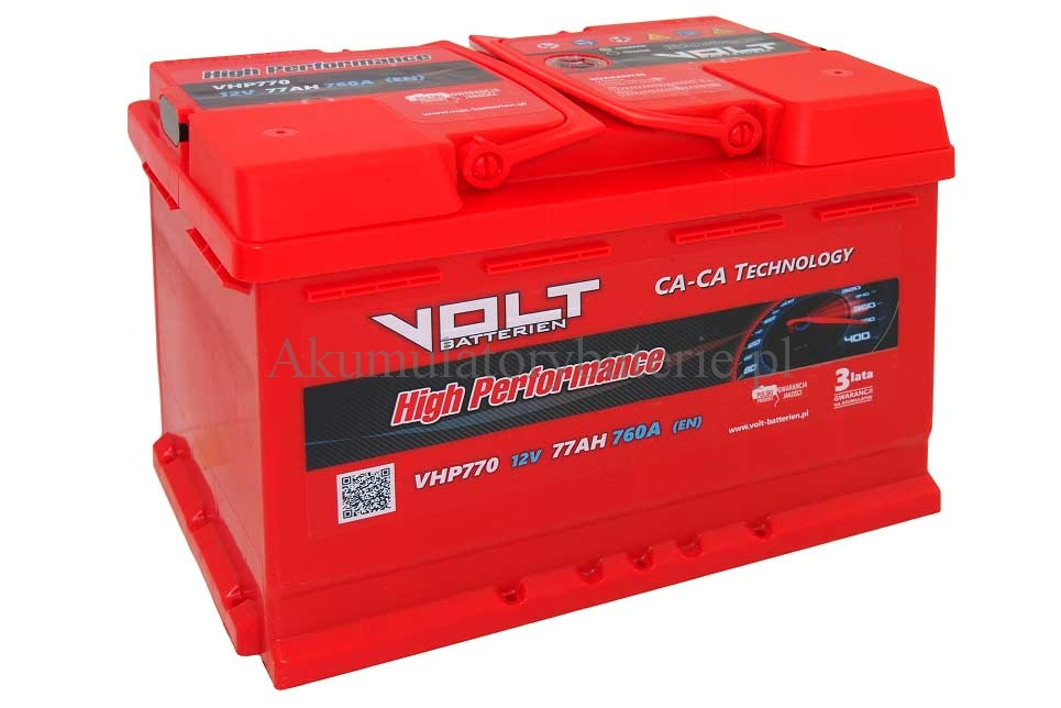 VOLT High Performance 12V 77Ah 760A