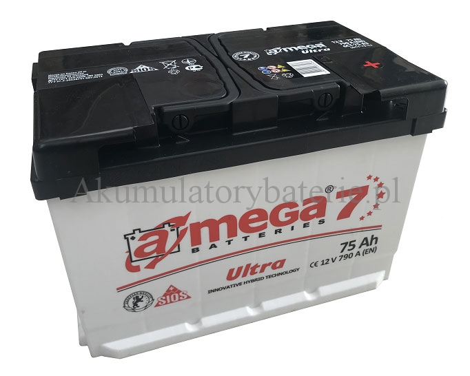 AMEGA M7 12V 75Ah 790A